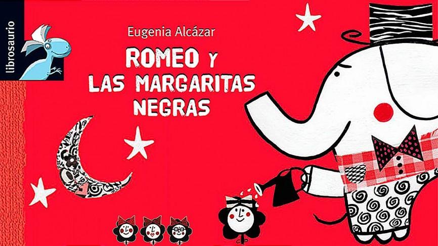 Eugenia Álcazar cuento Romeo y las margaritas negras