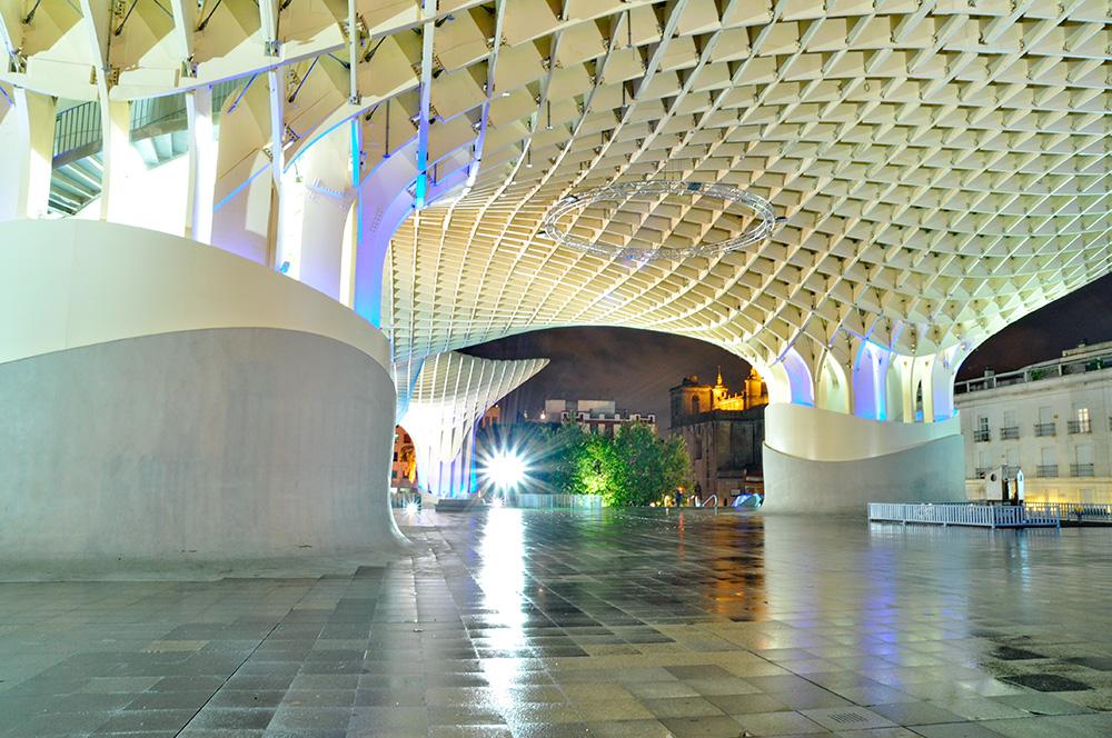 Proyecto de diseño paramétrico Jürgen Mayer Metropol Parasol en Sevilla, 4