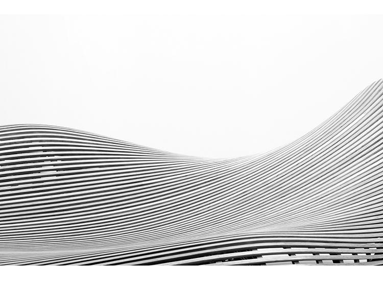 Diseño paramétrico realizado con métodos artesanos como en este caso la madera