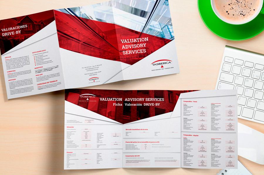 Dise o de brochures corporativos folletos de empresa for Diseno de interiores pdf