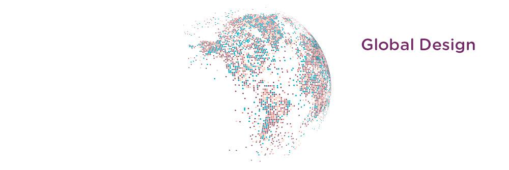 El diseño gráfico es global