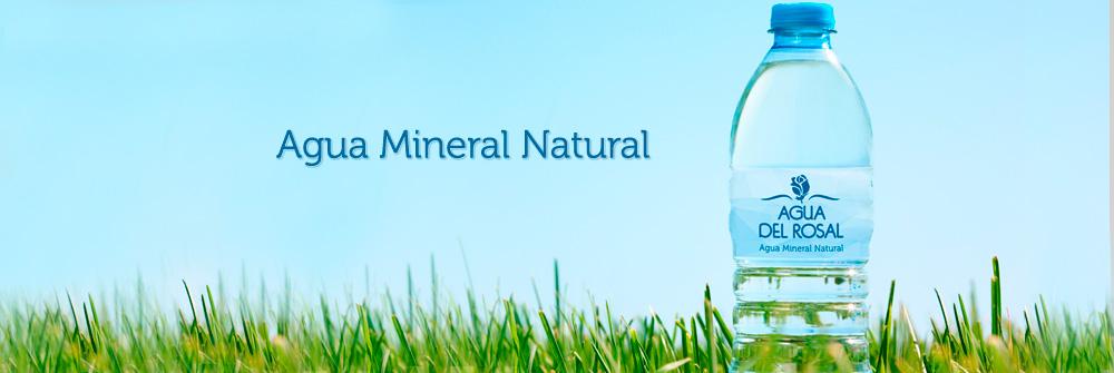 Diseño packaging botellas Agua del Rosal