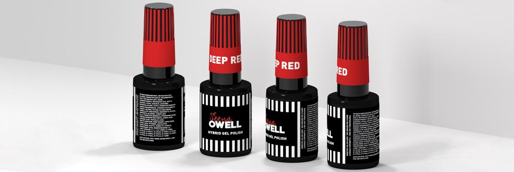 Diseño packaging marca Seena Owell
