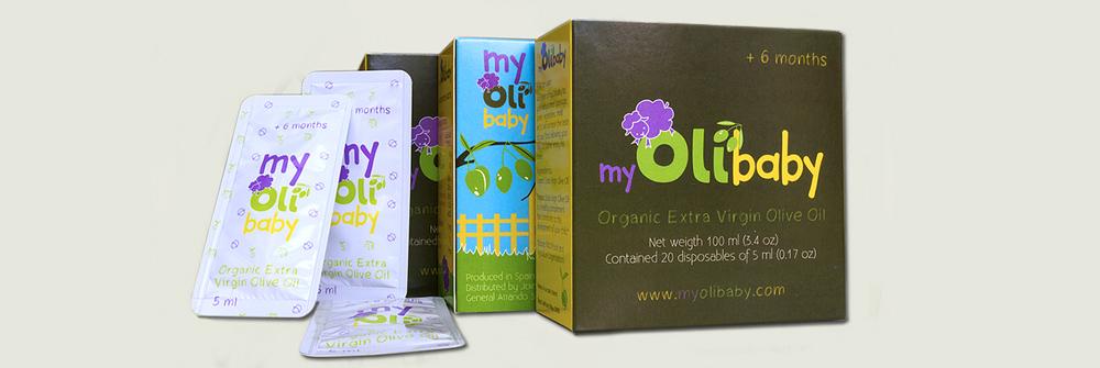 Diseño packaging marca myOlibaby