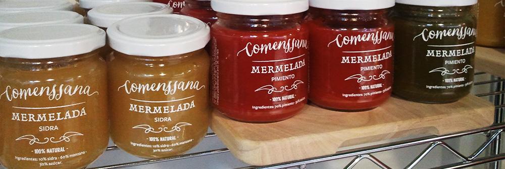 Diseño packaging marca Comenssana