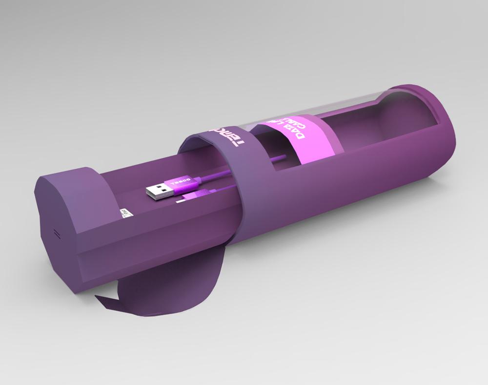 Diseño de producto caja packaging consumibles informáticos nº4