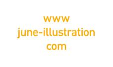Proyecto diseño p�gina web y branding June Illustration realizado en el estudio de diseño LN Creatividad y Tecnología