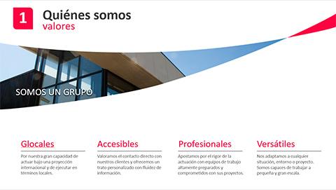 Presentación corporativa presentación de marca ppt descargar libre.