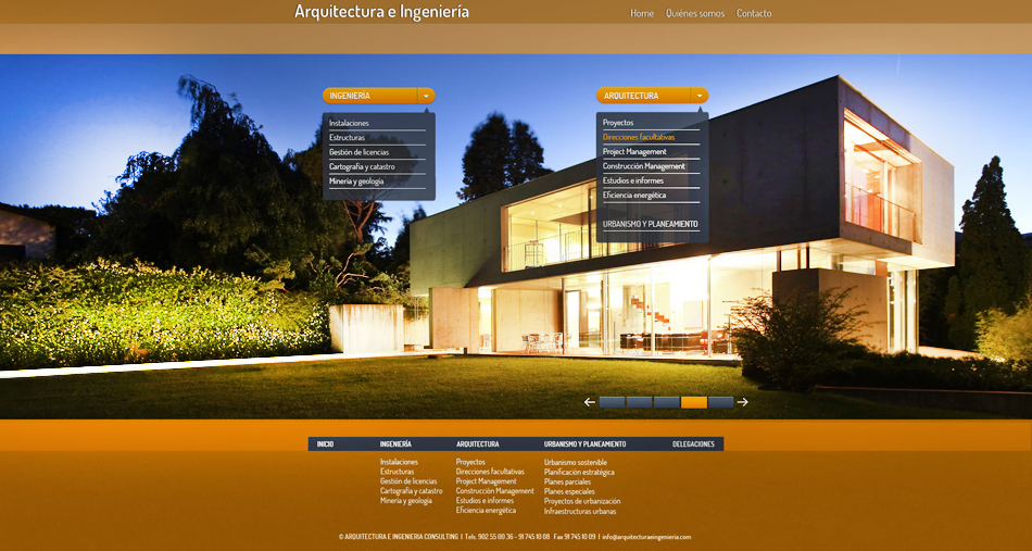 Estudio dise o web agencia dise o de p ginas web empresa - Paginas de arquitectura y diseno ...