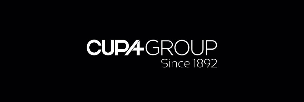 Diseño logotipo Cupa Group