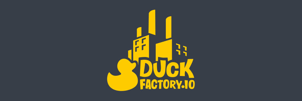 Diseño logotipo Duck Factory