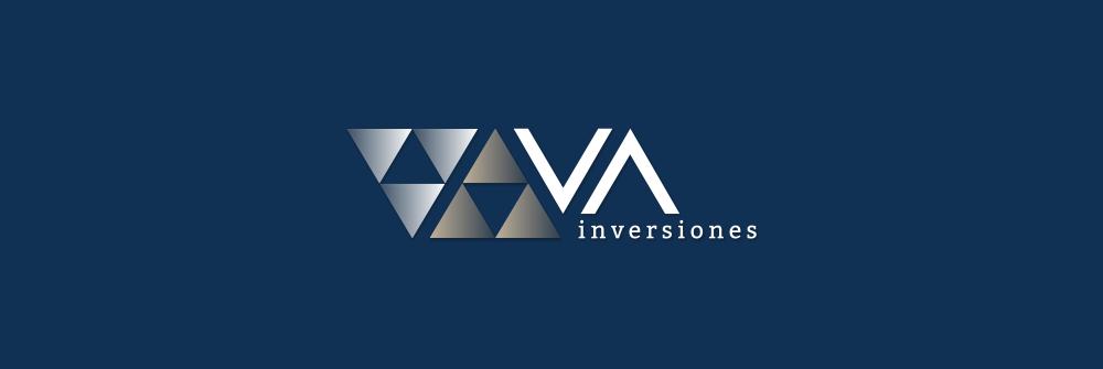 Diseño logotipo VA Inversiones