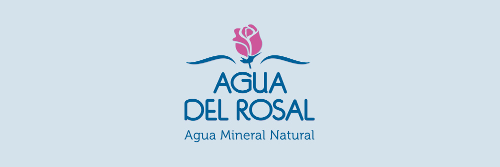 Diseño logotipo Agua del Rosal