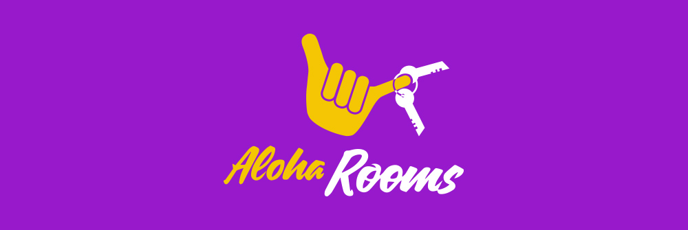Diseño logotipo Aloha Rooms