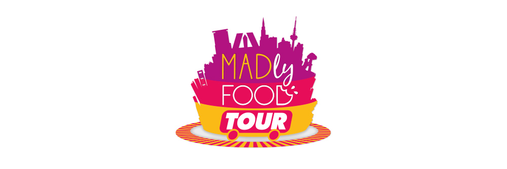 Diseño logotipo Madly Food Tour
