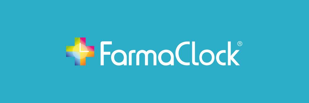 Diseño logotipo FarmaClock