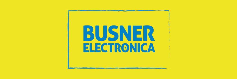 Diseño logotipo Busner Electrónica