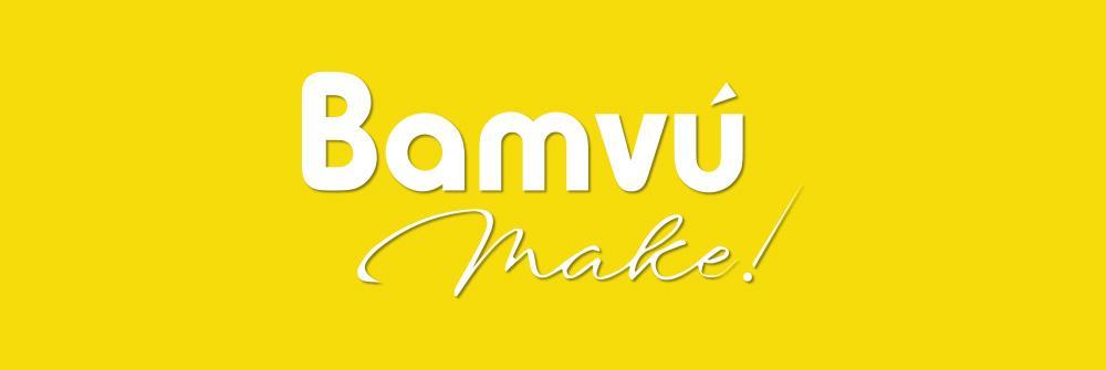Diseño logotipo Bamvú Make!