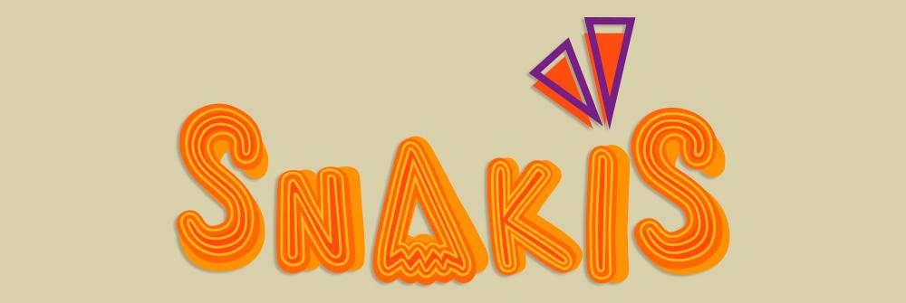 Diseño logotipo Snakis