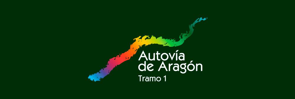 Diseño logotipo Autovía de Aragón, tramo 1