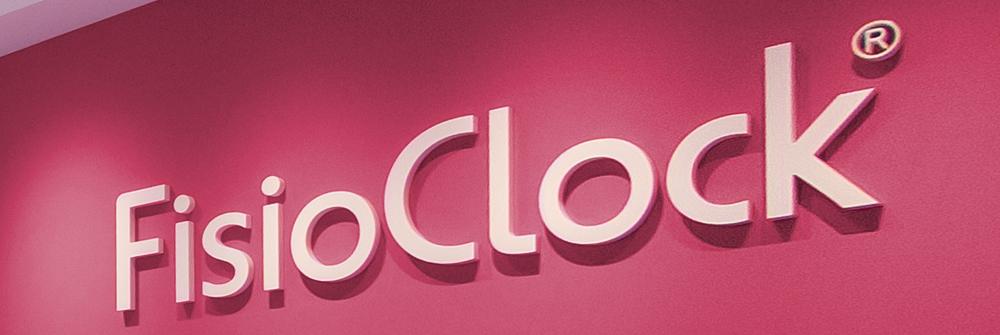 Diseño de identidad corporativa realizado para FisioClock