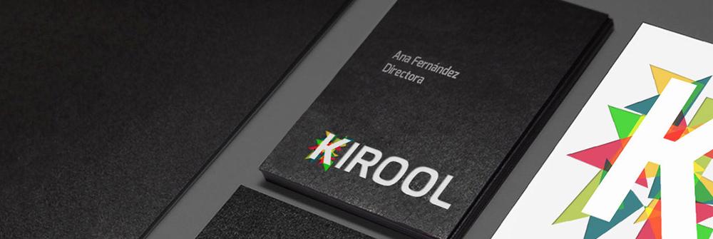Diseño de identidad corporativa realizado para la marca Kirool