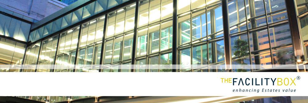 Diseño de identidad corporativa realizado para Facility Box