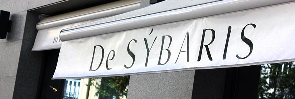 Diseño de identidad corporativa realizado para De Sýbaris