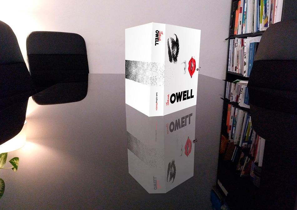 Diseño de caja Lash Lifting Keratin de Seena Owell, vista 3
