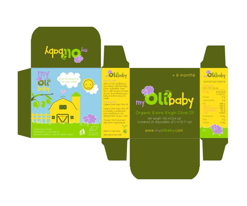 Diseño de packaging, despiece de caja