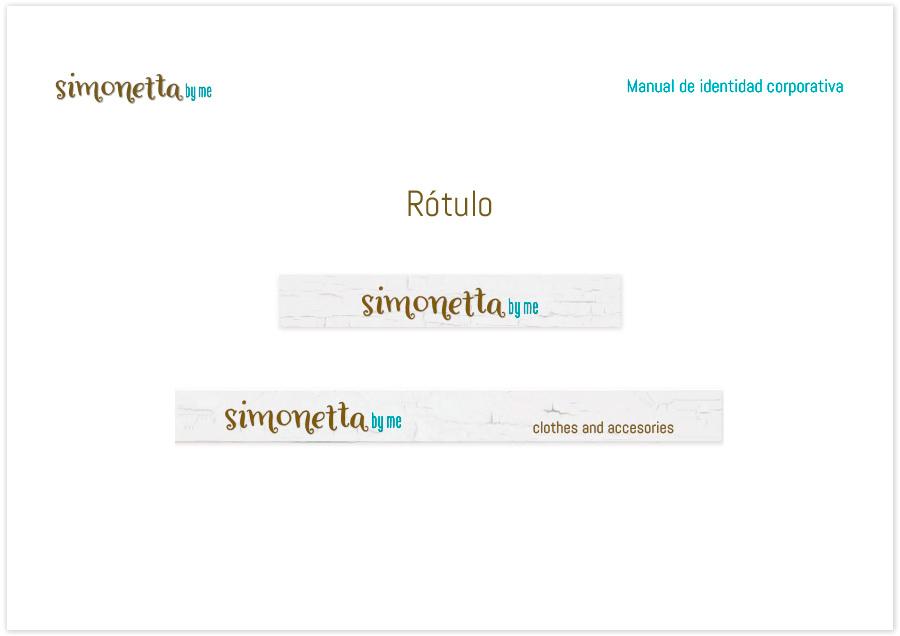 Diseño de Papelería corporativa Simonetta by me