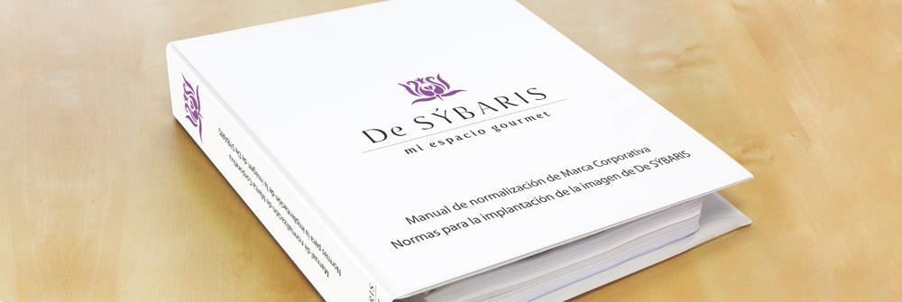 Diseño manual de identidad corporativa De Sýbaris