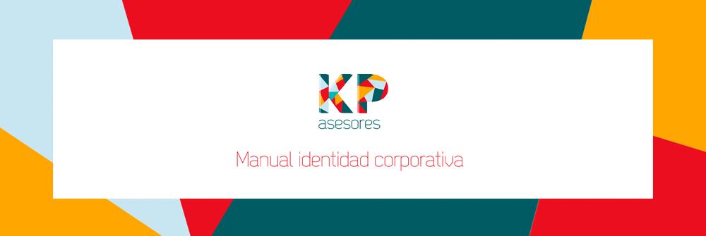 Diseño manual de identidad corporativa KP Asesores