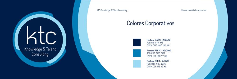 Diseño manual de identidad corporativa KTC