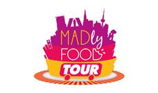 Proyecto de imagen corporativa o proyecto de branding realizado en el estudio de diseño gráfico LN Creatividad y Tecnología para MadlyFood Tour