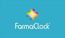 Proyecto de desarrollo de imagen corporativa FarmaClock, realizado en el estudio de diseño LN Creatividad y Tecnología.