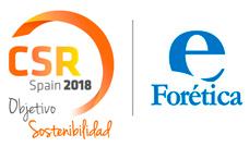 Proyecto de branding imagen corporativa evento CSR SPAIN 2017 organizado por For�tica