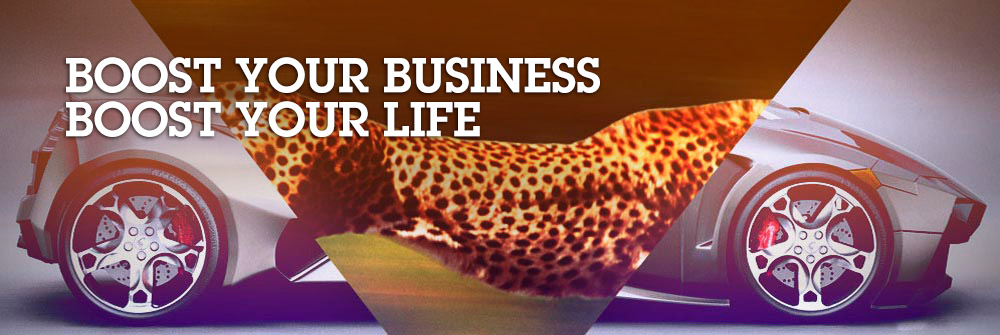 Boost your business. Boost your life.